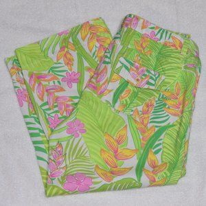 Lilly Pulitzer Tropical Capris pant size 12